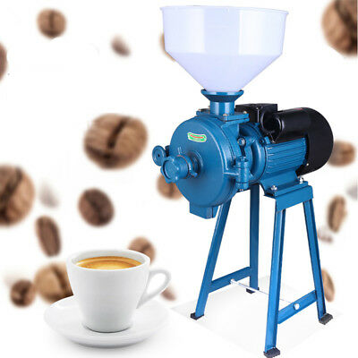 Electric Dry Herb Mill Grinder Machine For Corn Grain Wheat Cereal Coffee 1500W