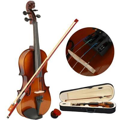 Hot High Quality 1/2 Practice Right Handed Student Acoustic Violin with Case