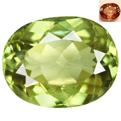 4.49Ct Impressive Oval Cut 11 x 9 mm AAA Color Change Turkish Diaspore