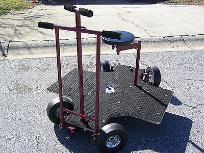 4 Wheel Steering Doorway Dolly 4 Professional Film Video Production **Extra seat