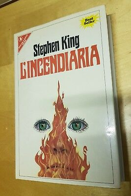 Stephen King, L'INCENDIARIA, Sperling & Kupfer  1982 prima edizione