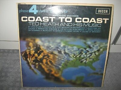 "LP Ted Heath & his Music ""Coast to Coast"" (Decca Records)"