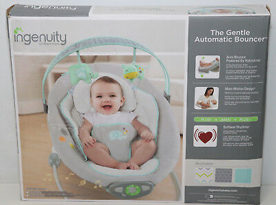 Bright Starts 60393 Ingenuity Gentle Automatic Bouncer - Avondale