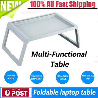 Laptop Lap Desk Foldable Table Bed Computer Laptop Holder Portable Serving Tray