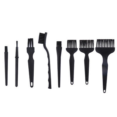 8Pcs ESD Safe Plastic Anti Static Brush Detailing Cleaning Tool for Mobile Phone