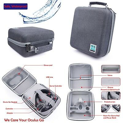 All in one Storage Case Cover Carrying Handbag Pouch For Oculus Go VR Headset