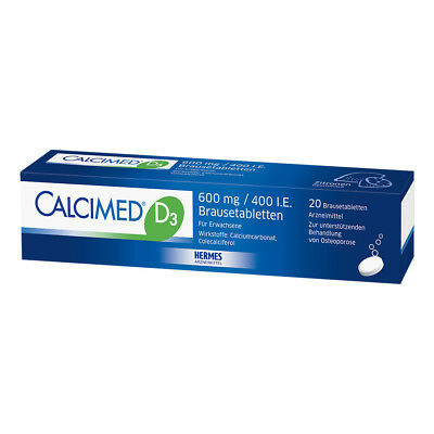 Calcimed D3 600mg/400 I.E. 20stk PZN 09750116