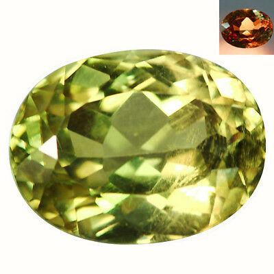 4.99Ct Premium Oval Cut 11 x 9 mm AAA Color Change Turkish Diaspore