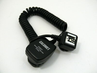 Calumet CF0027 off-camera TTL Sync Cord for Canon. See description.