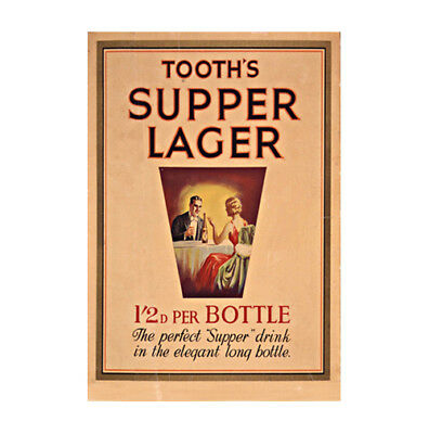 Tooths Supper Lager 320x480mm photoposter dining bar beer