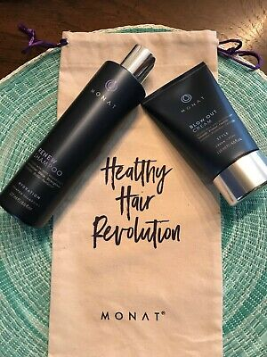 New Monat Duo Renew Shampoo And Blow Out Cream