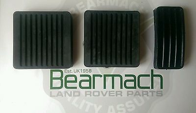 Land Rover Defender 90, 110, Pedal Covers, Brake Accelerator Clutch Set 11H1781L