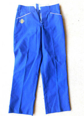 Official BSA Cub Scout Blue Uniform Trousers Pants Size 12/22 Preowned