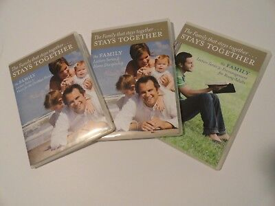 The Family that Stays Together, Stays Together, The Family Lecture Series 1 - 3,
