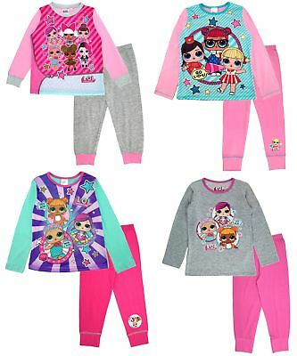 L.O.L Surprise ! Kids Girls LOL Dolls Pyjamas Long Pj's Set Nightwear Size 4-10