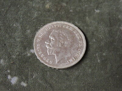 1935 British King George V Crown Silver Coin - Circulated - Lot#2