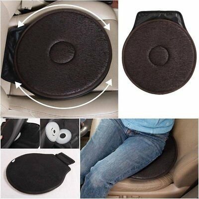 Rotating Seat Cushion Swivel Revolving Mobility Aid for Car Office Home Chair AU
