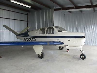 1956 Beech G-35 Bonanza Airframe, Super Nice In And Out,  Tail Damage, For Repai
