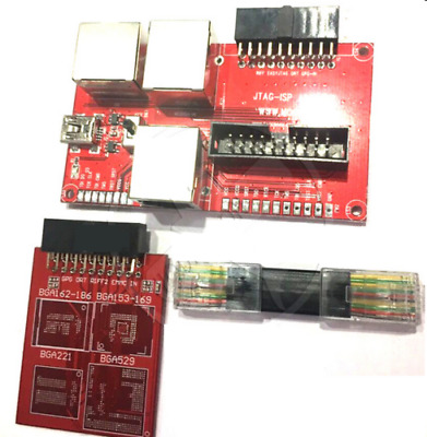 NEW EMMC ADAPTER 3 in 1 for Easy Z3x JTAG PRO box riff box