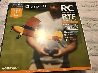 Hobbyzone Champ (micro Size) - Ready To Fly Airplane