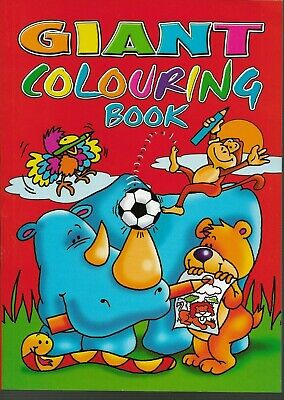 Giant Colouring Book 144 Pages To Colour Ideal Gift Keep The Kids Happy Book 1