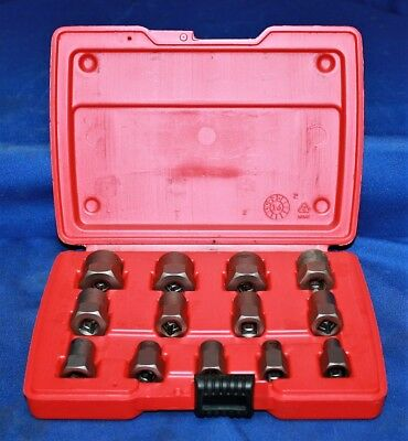 Snap On 13 Pc Hex Bolt Extractor Set BEX13A