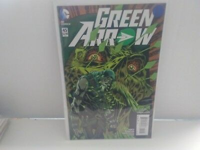 Green Arrow #45 (December 2015, DC) Monsters of the Month Variant
