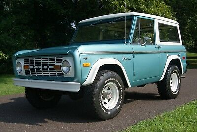 1973 Ford Bronco 302 v8 4x4 1973 FORD BRONCO -  4X4 - FACTORY 302 V8 - HARD TO FIND CLASSIC SUV - NO RESERVE