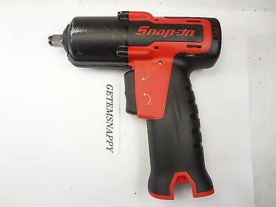 """Snap On 3/8"""" Drive Red 14.4 Lithium Ion Cordless Impact Wrench CT761 SUPER NICE"""
