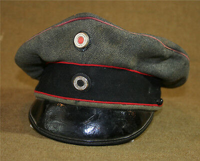 Prussian/German Officer's Visor Cap (Air Service/Pilot, Pioneer, Artillery)