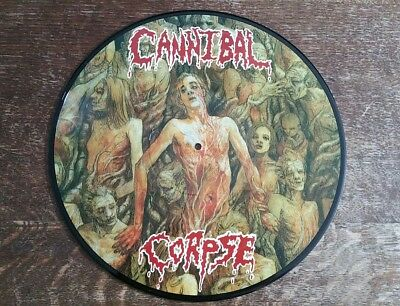 CANNIBAL CORPSE - GUTTED PicLp Live Death Metal Carcass Morbid Amon Deicide