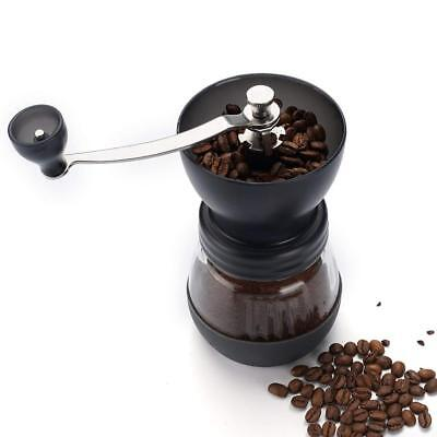 Manual Coffee Grinder with Conical Ceramic Burr - Because Hand Ground Coffee To