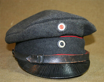 "Imperial German NCO's Private Purchase Visor ""Crusher"" Cap - Berlin Maker"