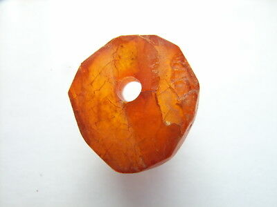 1 Ancient Celtic Amber Amulet,  Celts VERY RARE!  TOP !!