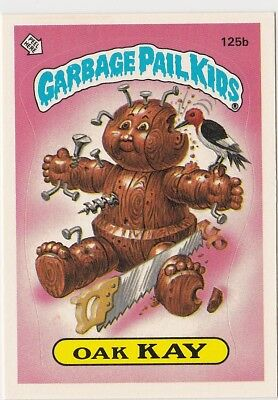 125-166 A/B (84) COMPLETE SET Sleeved 1986 Topps Garbage Pail Kids 4th Series