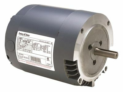 Century 1/12 HP Direct Drive Blower Motor, Split-Phase, 850 Nameplate RPM, 115