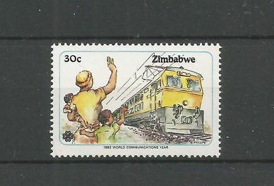 Zimbabwe 1983 59 ** Trains Locomotives