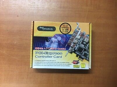 SE-BOXG-BC-PECMB-1 BEST CONNECT 394a + USB2.0 Combo PCI-Express Controller Card.