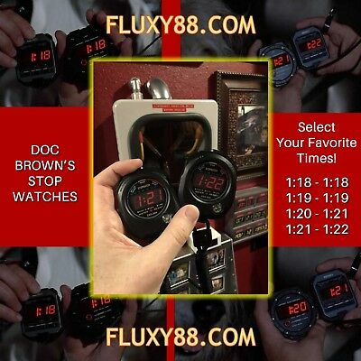 Doc Brown's Stop Watch - Back to the Future - 2 included!