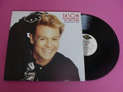 Lp / Jason Donovan - Between The Lines + Ois / Hi-Nrg,synthpop