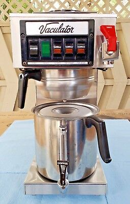 Commercial Vaculator TAK20FC Coffee Brewer, Pour-Over or Water Supply + Bonus