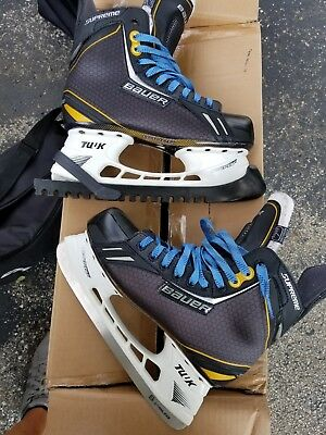 Bauer Supreme One 6 Ice skates, Men's size 7 EE,  wore them to the rink once