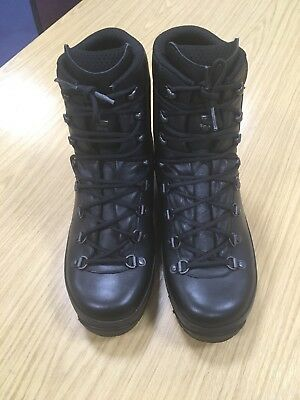 Original Lowa PTB Black Army Vibram Leather Combat Patrol Boots 9M UK