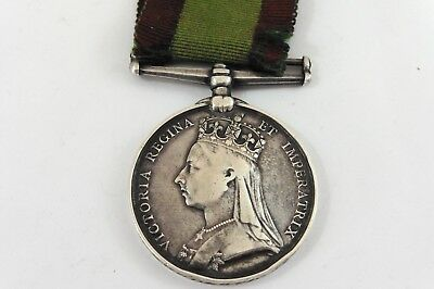 1878-79-80 AFGHANISTAN MEDAL 59th FOOT IN GOOD ORIGINAL CONDITION WITH RIBBON