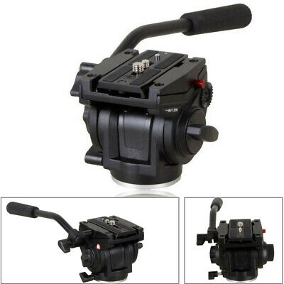 VT3510 701HDV with 501PL QR Plate Pro Fluid Video Mini Head for Manfrotto Tripod