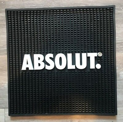 Absolut Vodka Square Bar Rubber Spill Mat