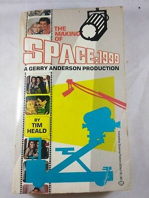 Vintage 1976 Paperback The Making of Space: 1999 Gerry Anderson Production SciFi