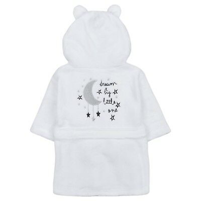 personalised Babys Unisex Girls Boys Dressing Gown Robe Plush Snuggle Soft