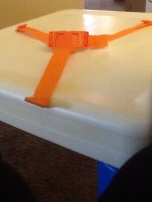 Infant Booster Seat Belt Replacement Set Orange New  Summer Giggles