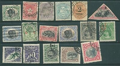 LIBERIA 1892-1906 used stamp collection including Officials